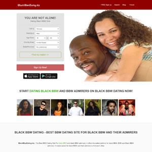 black bbw dating site